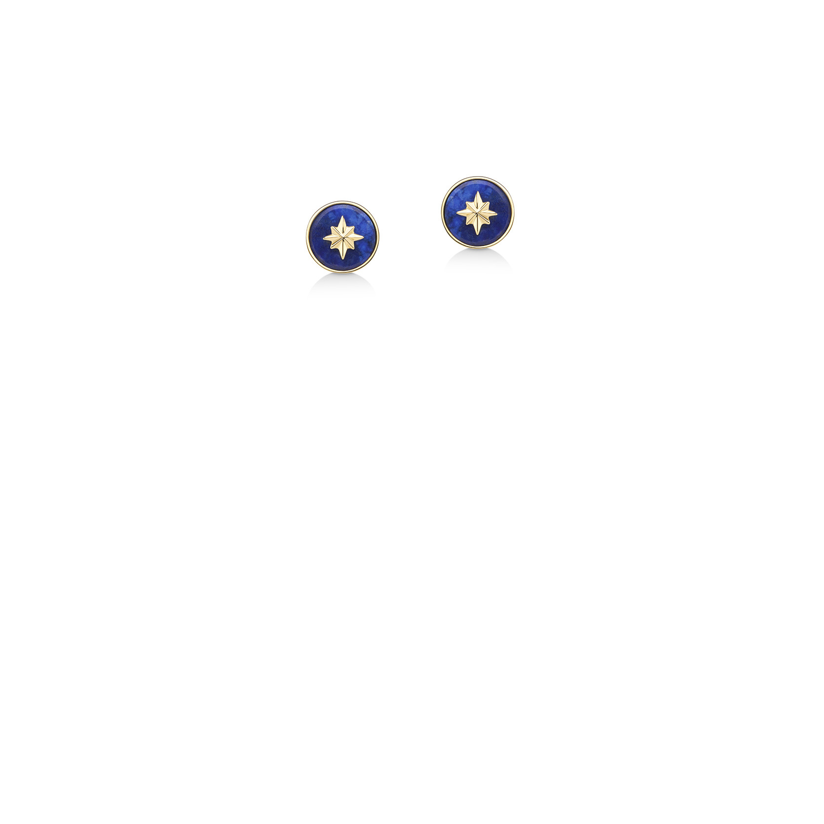 Brinco Star Lapis Lazuli - UNI